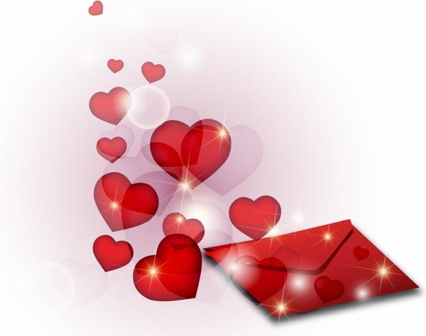 romantic passionate letter free vector in adobe illustrator ai ai
