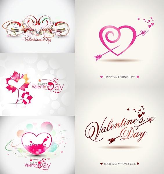 romantic valentine day graphics vector