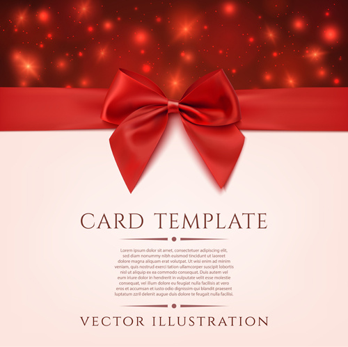 Valentine Gift Cards Vectors
