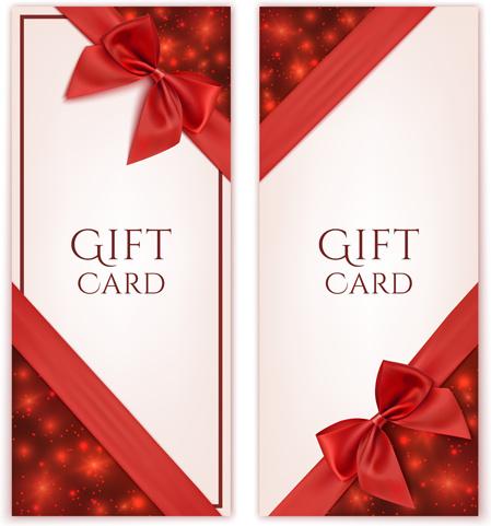 Romantic Valentine Gift Cards Vectors Free Vector In Adobe