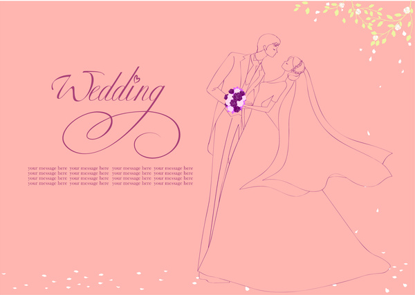 romantic wedding background