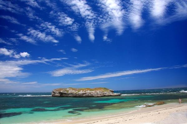 rottnest island australia indian ocean