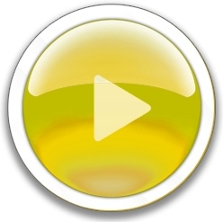 Round yellow play button