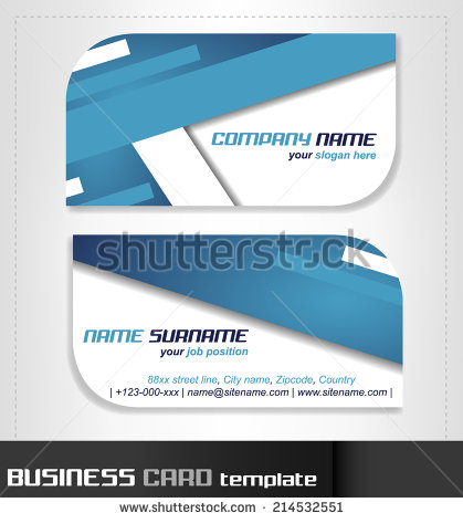 Rounded business cards template vector free vector in encapsulated rounded business cards template vector flashek Choice Image