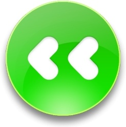 Rounded green Fast backward  button