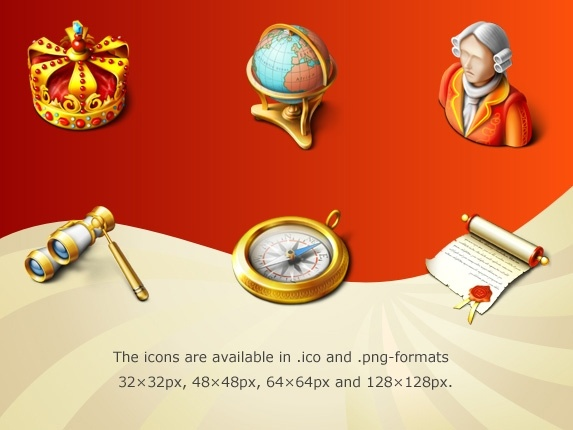 Royal Icon Set icons pack