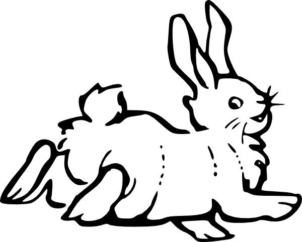 Rabbit Clipart Free PNG Image Illustoon