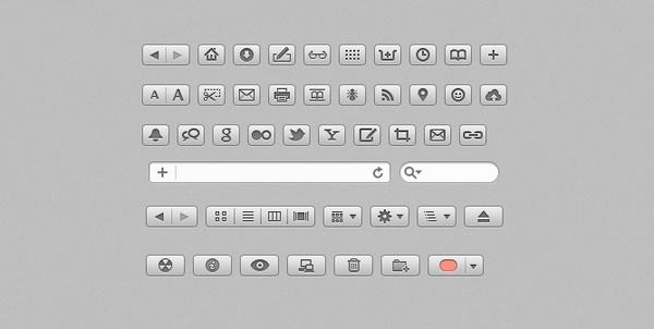 Safari Finder Glyphs