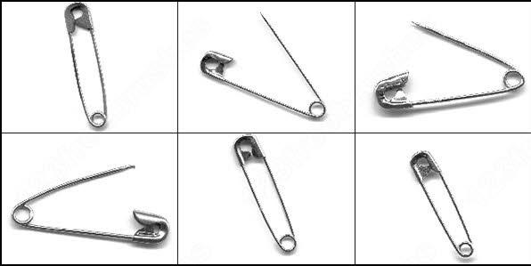 safety pin brush