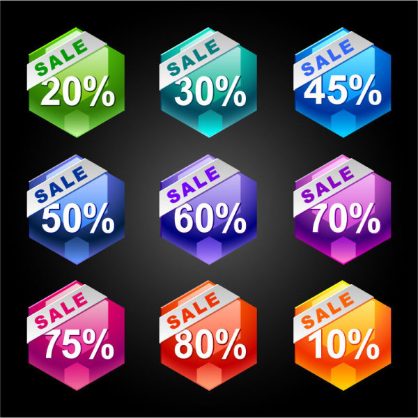 sale discount free eps icon