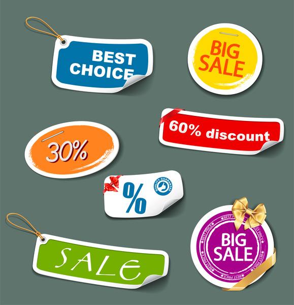 sale off tags collection