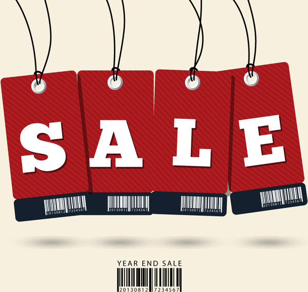 sale tag with barcodesale tag with barcode