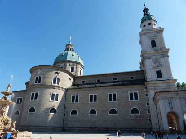 salzburg cathedral dom cathedral