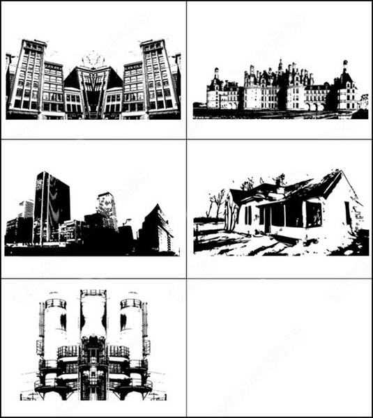 sample file from building series vector and photoshop brush