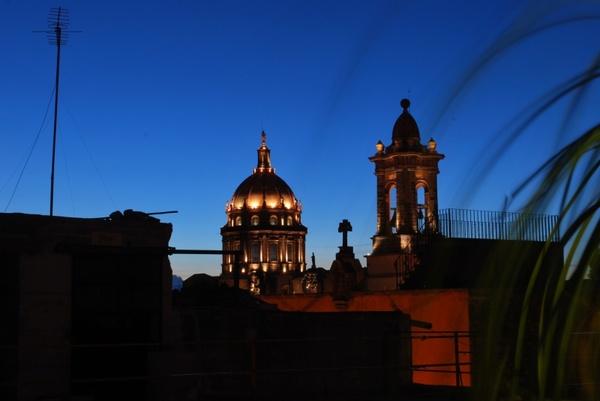 san miguel de allende mexico church