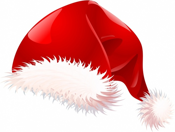 Christmas Hat Vector Png.Santa Hat Free Vector In Adobe Illustrator Ai Ai