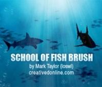School of Fish Brush Set