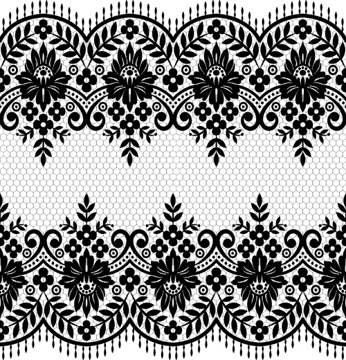seamless black lace borders vectors free vector in encapsulated rh all free download com lace trim border vector lace trim border vector