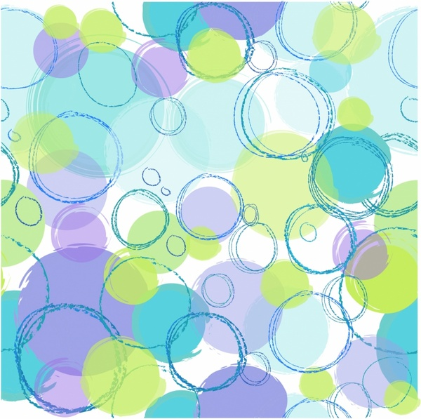 Seamless Pattern Circles