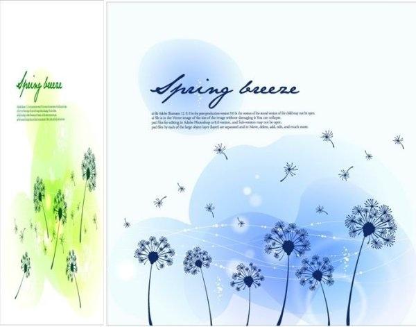 seasonal changes landscape illustrator vector 3