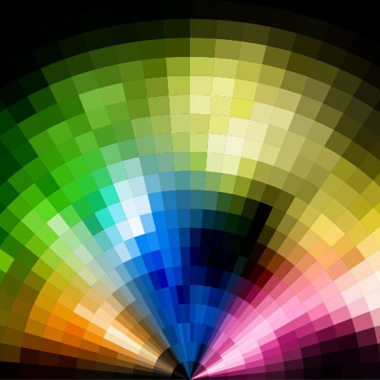 colors background template modern colorful blurred light decor