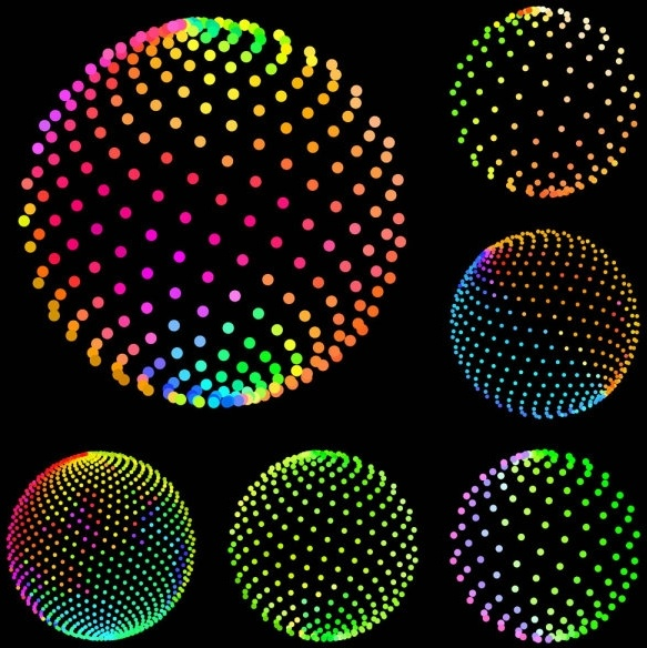 Sense Of Vector Graphic Science And Technology Sphere Free