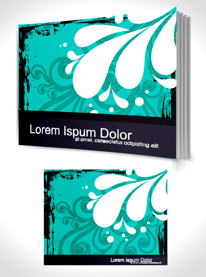 Book Cover Design Cdr : Cover page design template free vector download