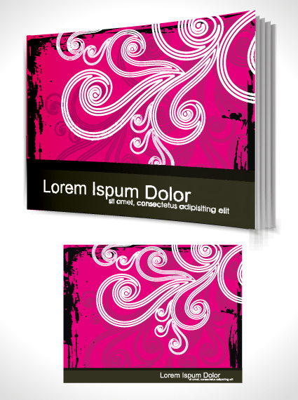 Book Cover Images Free : Cover page design template free vector download