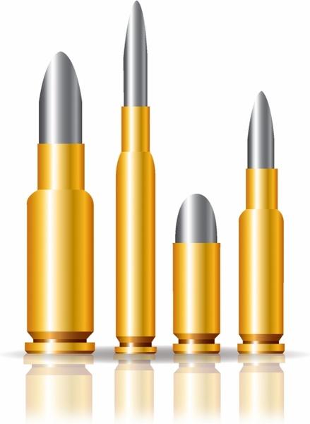 Set of bullets Free vector in Adobe Illustrator ai (  AI