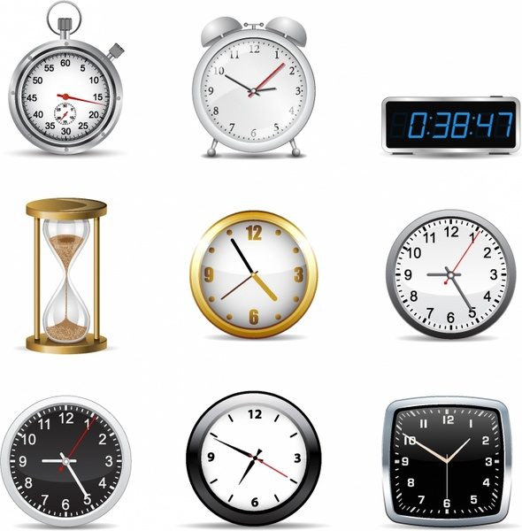 Clock Free Vector Download 639 Free Vector For