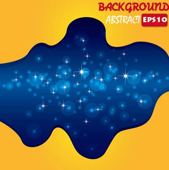 set of colorful abstract vector background art