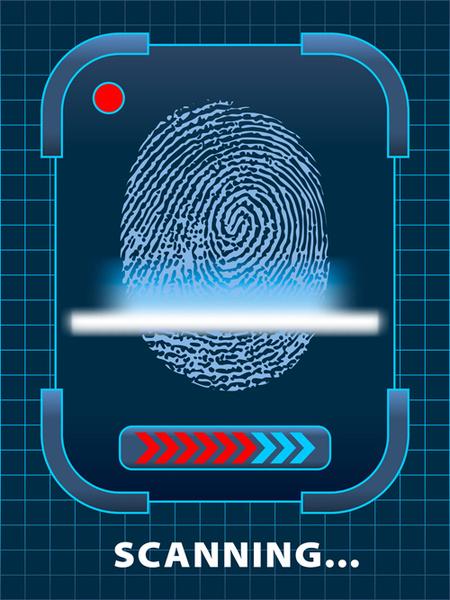 Fingerprint free vecto...