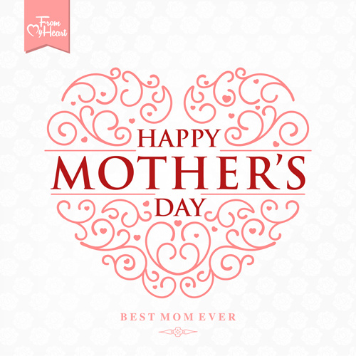 I Love You Mom Happy Mothers Day Flyer Template Psd Free: Happy Mothers Day Logo Free Vector Download (75,533 Free