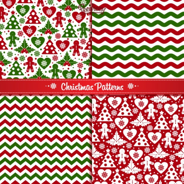 Free christmas pattern vector download free vectors, clipart.