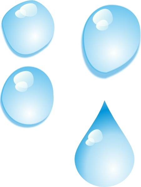 water drop clip art transparent background free vector download