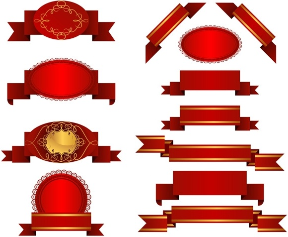 several red ribbon streamers vector free vector in encapsulated rh all free download com all vector operations that are well defined all vector people