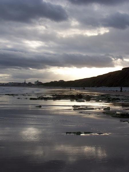 sewerby beach