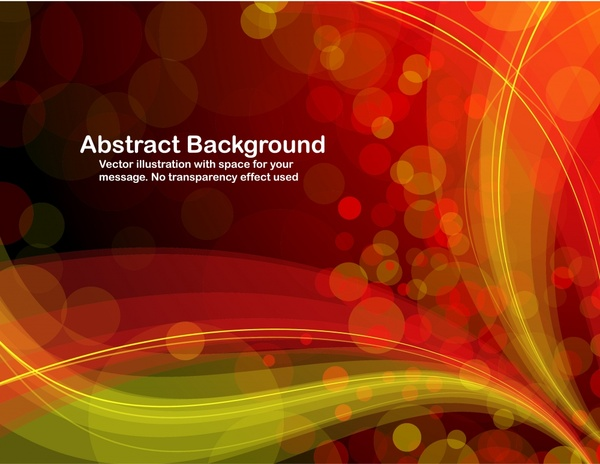 abstract background bokeh design dynamic curves ornament
