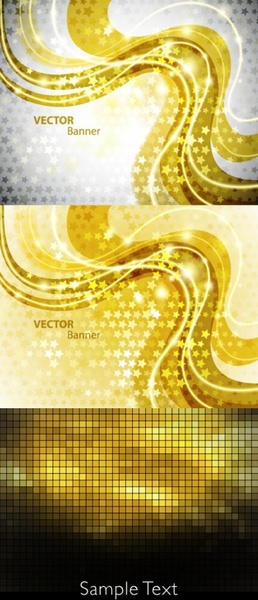 shine golden background vector