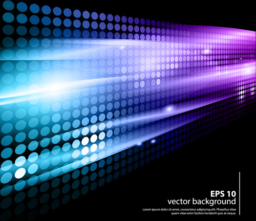 shiny neon disco party background vector free vector in adobe