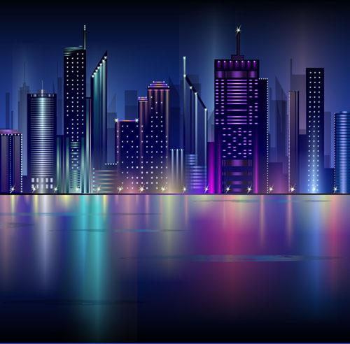 Landscape Illustration Vector Free: City Landscape Vector Free Vector Download (2,640 Free