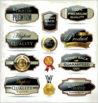 shiny premium label vector free vector in encapsulated postscript