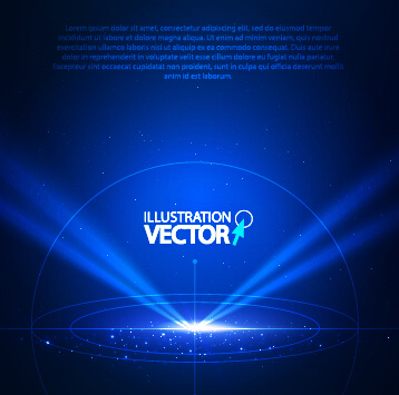 shiny spotlight background illustration vector