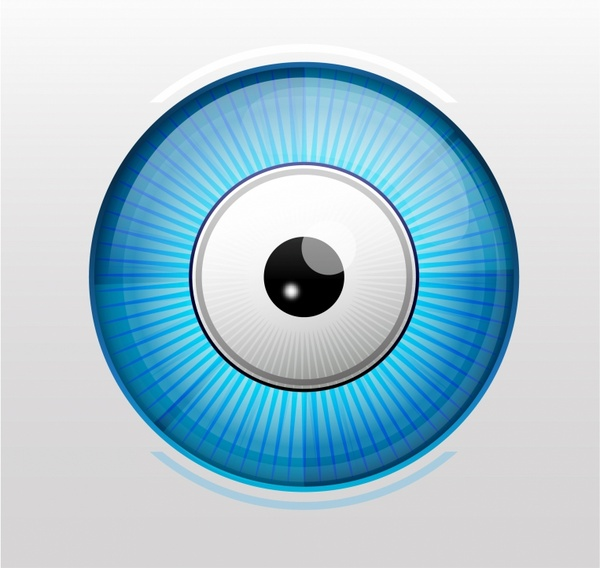 Shiny vector eye