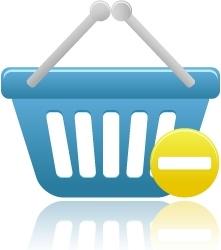 Shopping basket prohibit