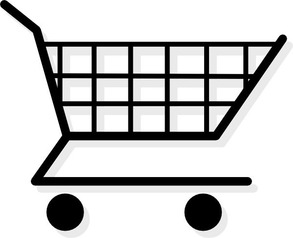 Shopping Cart Clip Art Free Vector In Open Office Drawing