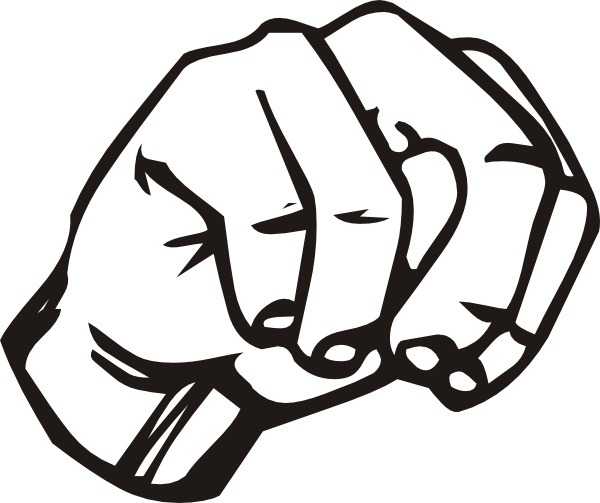 Sign Language N clip art Free vector in Open office ...