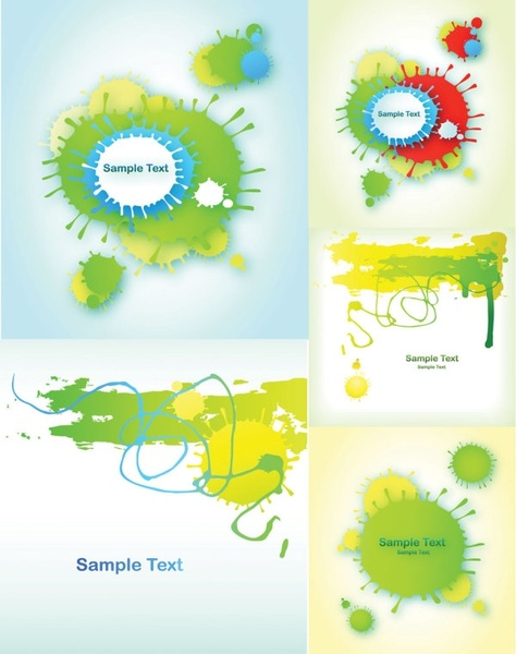 simple business card background vector