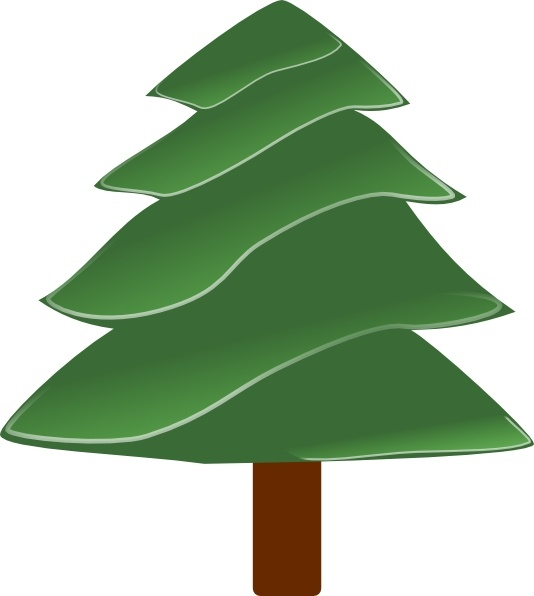 simple evergreen with highlights clip art free vector in open rh all free download com clipart evergreen tree evergreen branch clipart