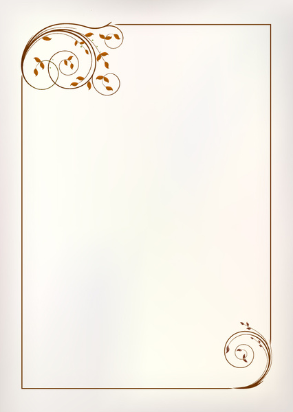 Simple Ornament Frame Vector Free Vector In Adobe